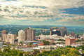 Syracuse new york view of in early autumn Stock Photos