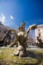 Syracuse piazza archimede and fountain of diana the is located in on the island ortygia in sicily Royalty Free Stock Photos