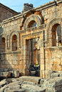 Syria - Church of St. Simeon - Qal'a Sim'an Royalty Free Stock Image
