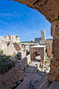 Syria - Saladin Castle (Qala'at Salah ad Din) Royalty Free Stock Photos