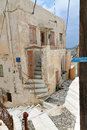 Syros island in greece the old town of Stock Image
