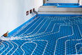 System floor radiant Royalty Free Stock Photo