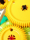 System of interconnected gears