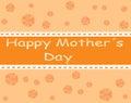 Szczęśliwy mother s dzień Zdjęcia Royalty Free