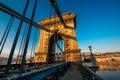 Szechenyi Chain Bridge Royalty Free Stock Photo