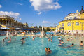 Szechenyi Thermal Baths and Pool Royalty Free Stock Photo