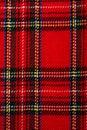 Szkocka krata Fotografia Stock
