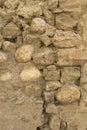 Szorstki kamiennej ściany tło Zdjęcia Royalty Free