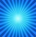 Tła błękit radial Zdjęcia Stock