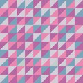 Seamless vector pattern with pink triangles.