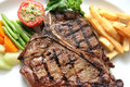 T-bone steak Stock Image