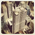 At t corporate center chicago building view from wellis tower Royalty Free Stock Image