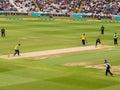 T20 Cricket Match England Royalty Free Stock Photo