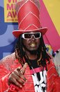 T pain at the mtv video music awards paramount pictures studios los angeles ca Royalty Free Stock Photos