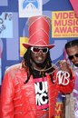 T pain at the mtv video music awards paramount pictures studios los angeles ca Royalty Free Stock Photography