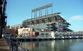 AT&T Park - San Francisco Giants Royalty Free Stock Image