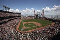 At t se garent autoguident du san francisco giants Image stock