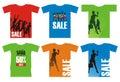T-shirt 1 Royalty Free Stock Photo