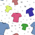 T-shirt background pattern Royalty Free Stock Photo