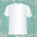 T shirt design over lineal background illustration Royalty Free Stock Photography