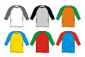 T-shirt Raglan colorful
