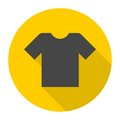 T-shirt sign icon, Clothes symbol