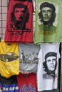 T-shirts for sale in Havana, Cuba Royalty Free Stock Photo