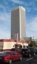 AT&T Towering Behind The Varsity