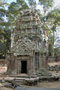 Ta Prohm temple - Angkor Wat Royalty Free Stock Photos