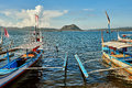 Taal volcano philippines april in luzon Stock Image