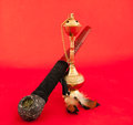 Tabacco pipe and hookah Royalty Free Stock Photo
