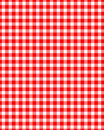 Table Cloth Pattern Stock Photo