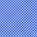 Table cloth seamless pattern blue vector illustration Royalty Free Stock Photos