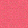 Table cloth seamless pattern red vector illustration Stock Photography