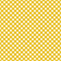 Table cloth seamless pattern yellow Royalty Free Stock Photo
