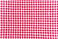 Table cloth texture red and white abstract background Royalty Free Stock Images