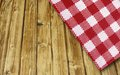 Table and cloth Royalty Free Stock Photo