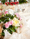 Table decor Stock Photography