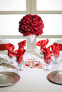 Table decorations  Stock Photography