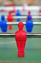 Table football player Royalty Free Stock Photo