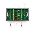 Table football on a white background Stock Photo