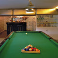 Table for game in billiards Stock Photography
