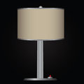 Table lamp decorative with shade vector illustration Royalty Free Stock Photos