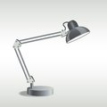 Table lamp picture of vector eps illustration Stock Photo