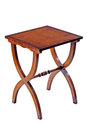 The table in mahogany. Royalty Free Stock Photo