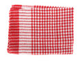 Table napkin or tablecloth vintage Royalty Free Stock Photos