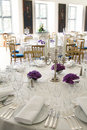 Table posh reception Royalty Free Stock Photo