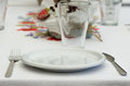Table serving set up for Royalty Free Stock Image