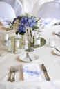 Table settings - series Royalty Free Stock Photo