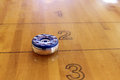 Table Shuffleboard Puck Royalty Free Stock Photo